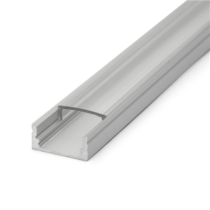 Aluprofil 11mm ledszalaghoz 2m/db (2000x17x8mm) AAP-N-2M