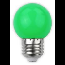 Led E27 1W kisgömb 30lm zöld ABDLG45-1W-G
