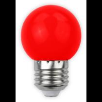 Led E27 1W kisgömb 30lm piros ABDLG45-1W-R