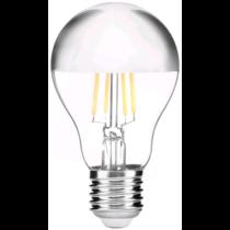 LED E27 8W 360° 610lm 2700K (59W) Tükrös (tetején) filament ABLFG27WW-8W-HM
