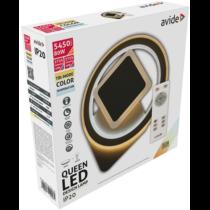 Mennyezeti lámpa LED 80W, 5450lm, 4000K, rádiós távirányítóval 120° AADO3S-80W-QN-2.4G