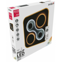 Mennyezeti lámpa LED 95W, 5225lm, 5000K, rádiós távirányítóval 120° ADO3S-95W-PHI-2.4G