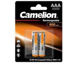 Akku AAA Camelion 600mA, LR03 GP (2db/csom.)