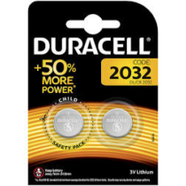 Elem CR2032 3V gombelem Duracel (2db/csom)