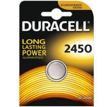Elem CR2450 3V gombelem Duracel (1db/csom)