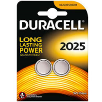 CR2025 gombelem Duracel