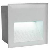 Süllyesztett lépcsővilágító, LED 3,7W 4000K 400lm 140x140x95mm, IP65  95235 Zimba
