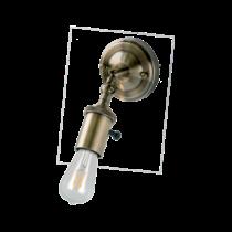 """""""Oldalfali lámpatest 1xE27 antik réz IP20 """"""""Sailor"""""""" 955SAILOR1W"""""""
