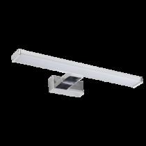 Tükörvilágító LED-es lámpatest 8W 504lm 4000K 120° 230VAC IP65 95IP4411