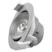 Beépíthető spot billenthető 5W 350lm 3000K 60° alu 230VAC IP20 ZD3620 Emos