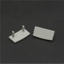 Aluprofil végzáró 41010A2-hoz 41010E (pár)