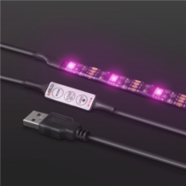 Led szalag szett RGB TV 1m hosszú + manuális szabályzás 5V USB csatlakozó 55851