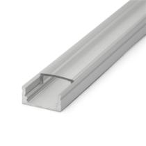 Aluprofil 11mm ledszalaghoz 2m/db (2000x17x8mm) GTV-PA-GLAXNK-AL