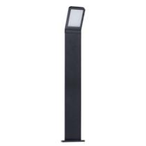 Kerti lámpa fekete , álló, LED 9W, 230VAC 600lm, 800mm magas, IP54 SEVIA LED 80 23554 Kanlux