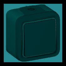 Plexo N101 nyomógomb IP55 szürke 69720