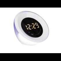 Asztali óra / lámpa, LED 6,9W, RGB, 133lm, IP20, 3000K 4449 Aurora
