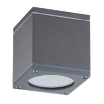 Mennyezeti lámpa 1xGU10 foglalattal, szögletes, antracit, IP54, 8149 Rábalux