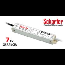Tápegység 12VDC 30W 2,5A 185-250VAC 142x30x21mm IP67 SCH-30-12 Scharfer