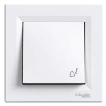 Asfora N101 csengőjellel kerettel fehér EPH0800121