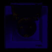 Asfora 162 dugalj csapfedéllel csavaros kerettel fehér EPH3100121