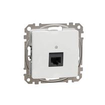 Sedna 1xRJ45 számítógép csatlakozó Cat5e UTP fehér (új) SDD111451