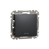 Sedna 101 kapcsoló jelzőfénnyel antracit IP20 (új) SDD114101L