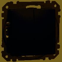 Sedna 105 csillárkapcsoló betét antracit IP20 (új) SDD114105