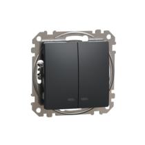 Sedna 105 csillárkapcsoló betét antracit, jelzőfénnyel IP20 (új) SDD114105L