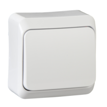PRIMA 101 kapcsoló IP20 fehér WDE001010