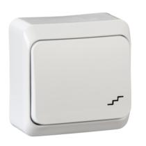 PRIMA 106 váltó kapcsoló IP20 fehér WDE001060