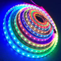 Led szalag színes SMD 30 ledes 7,28W/m 12VDC kültéri IP65 LED-SZK-72-RGB (5m/csom)