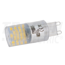 LED G9 230VAC, 4W, 4000 K, G9, 350lm, 200°, 25.000h EEI=A+ LG9H4NW