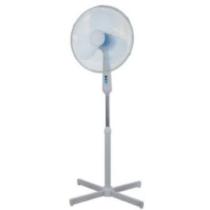 Állóventilátor, fehér, ventilátor átm.: 42cm, magasság 100-122cm,3-fokozat, 2260m3/h, 230VAC, 50W, F50A