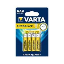 Elem Varta mini, féltartós elem AAA LR03 elem 1,5V (4db/csom)