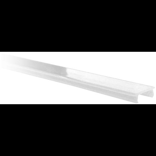 Aluprofil búra opál 11mm-széles szalagokhoz 2000mm (2m/db) AAP-NR-COV-F-2M