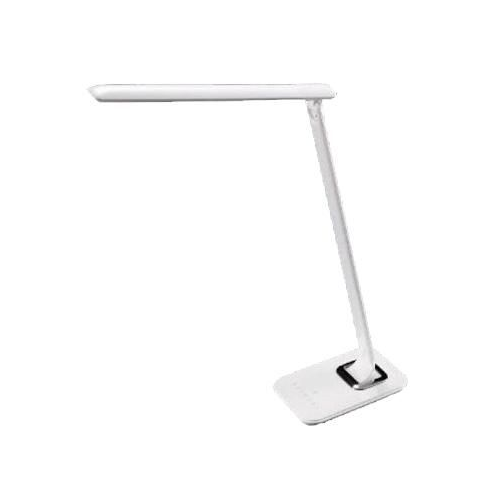 Asztali lámpa, szabályozható színhőmérséklet, 840lm 12W fehér 5 fokozat 41104F Clearled