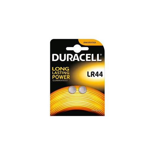 Elem LR44 gombelem (2db/csom) Duracell