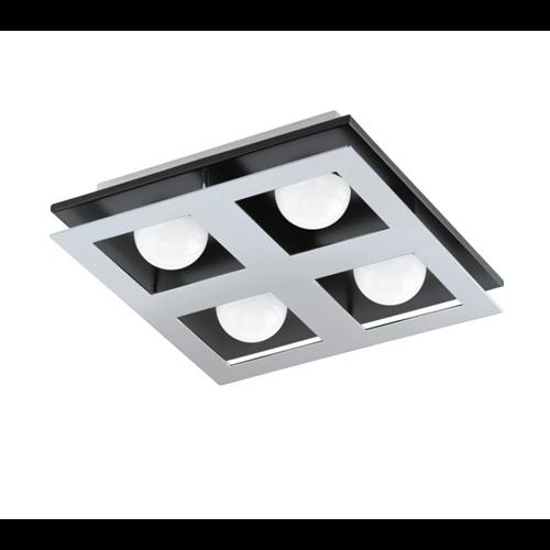 Mennyezeti lámpa LED 4x3,3W, 1360lm, 3000K, 310x307x98mm, 96534 EGLO BELLAMONTE 1
