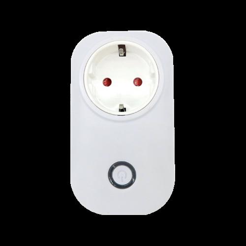 WIFI-s dugalj, 2200W, 10A, 2,4GHz, fehér, mobil alkalmazással vezérelhető,  195021 Elmark