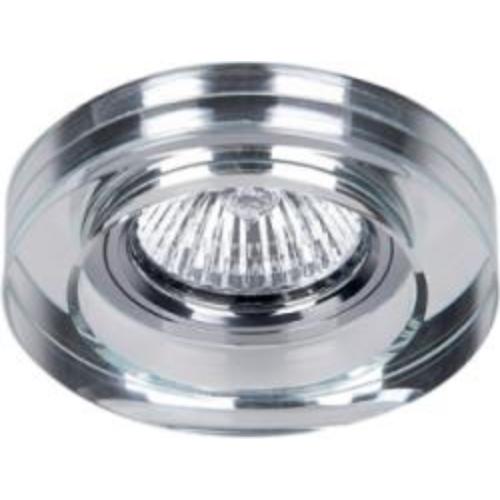 LED Spot MR16 GU5.3 12V fényforrásokhoz IP20 átlátszó üveg, kerek  925778R/CL