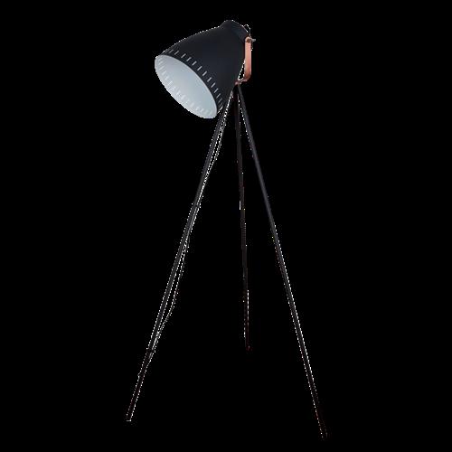 Max állólámpa 1XE27 fekete magasság: 1450mm 955MAX1F