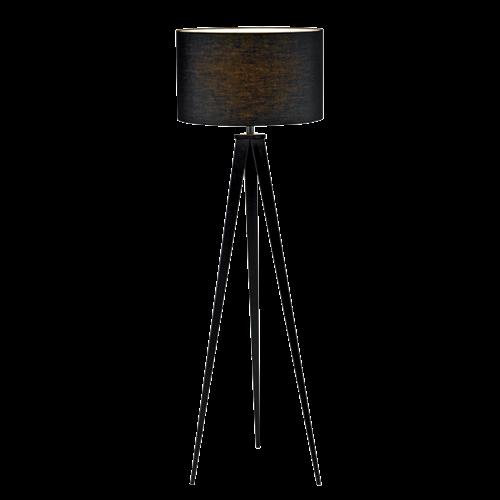 Tomy állólámpa 1XE27 sötét szürke átmérő:400mm, magasság: 1550mm 955TOMY1F