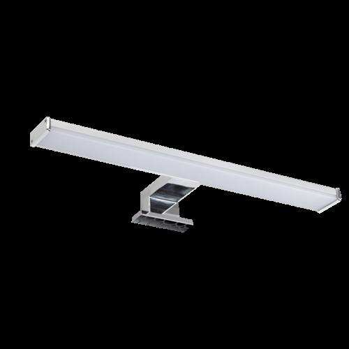 Tükörvilágító LED-es lámpatest 8W 504lm 4000K 120° 230VAC IP65 95IP4411/2