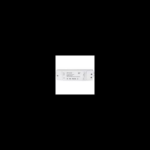 RF dimmer vevő, RGB(W) szalagokhoz, 4-csatornás, nyomógombbal illetve távirányítóval vezérelhető (99RGBREMOTE4-hez) 99RECEIVER4