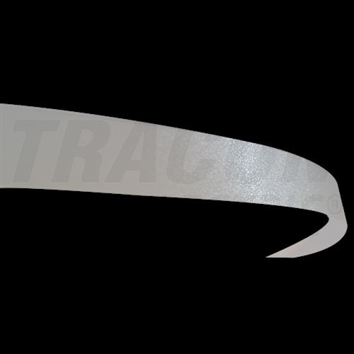 Aluprofil búra opál 10mm-es profilhoz 2000mm (2m/db) 41010M2