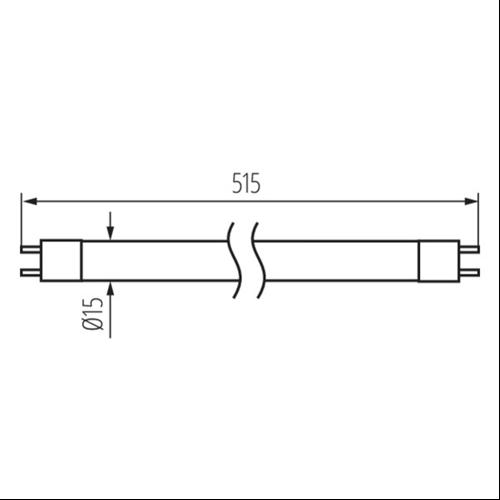 F.cső 13W/4000 1118lm  T5-ös fénycső 12716  (510mm)