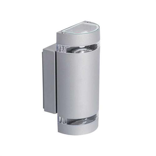 Oldalfali lámpatest, le/fel világító 2xGU10 foglalattal 22443 ZEW EL-235U-GR