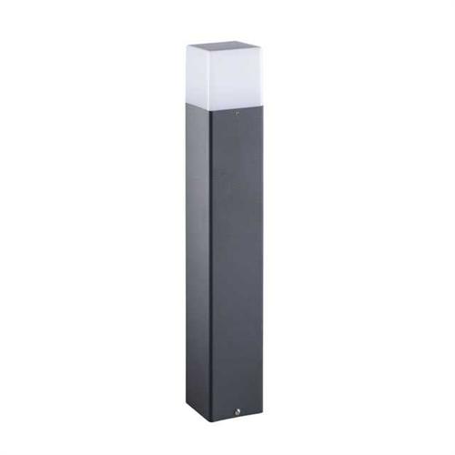 Kerti lámpa fekete , álló, 1XE27 230VAC, 500mm magas, IP44 VADRA 50 lámpa E27 29012 Kanlux