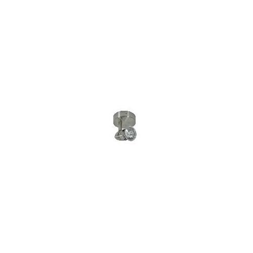 Spotlámpa fali / mennyzeti lámpa matt króm 1xGU10 foglalattal MOLIi 7085