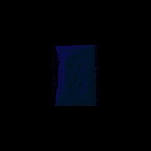 Valena 162/2 dupla dugalj fehér 774400